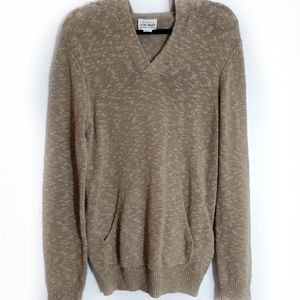 Lucky Brand Sweater Hooded Tan